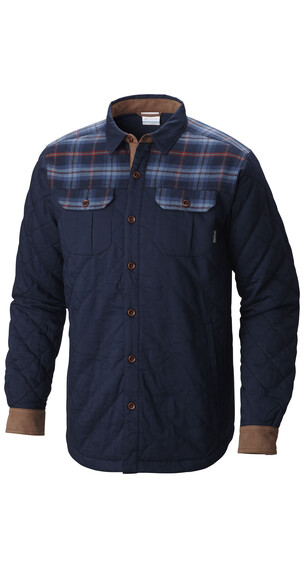 Columbia Kline Falls Shirt Jacket Men Collegiate Navy